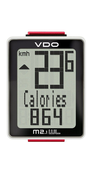 VDO M2.1 WR Cykelcomputer sort